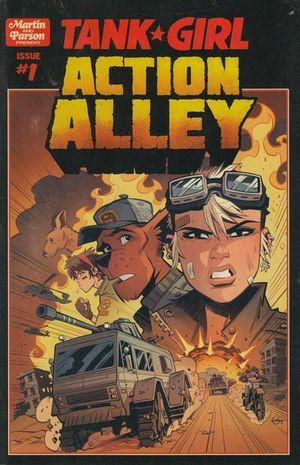 TANK GIRL ACTION ALLEY (2018) #1