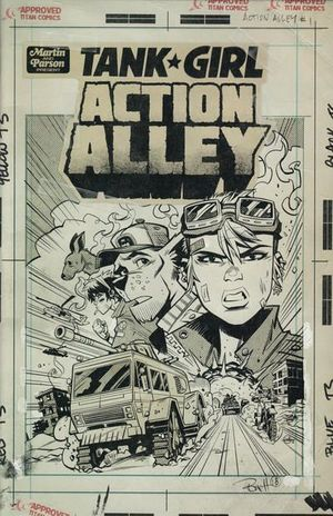 TANK GIRL ACTION ALLEY (2018) #1D