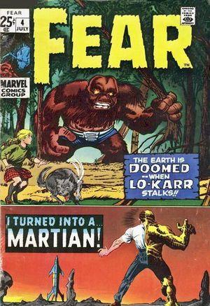 FEAR (1970) #4