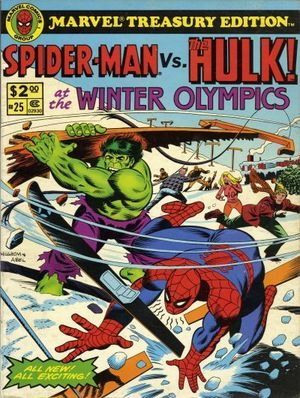 MARVEL TREASURY EDITION (1974) #25