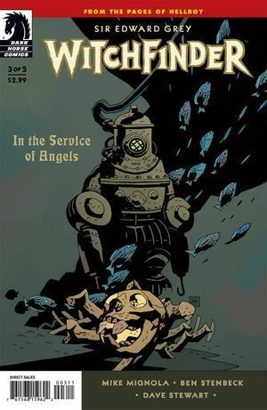 WITCHFINDER IN THE SERVICE OF ANGELS (2009) #3