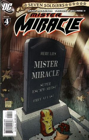 SEVEN SOLDIERS MISTER MIRACLE (2005) #4