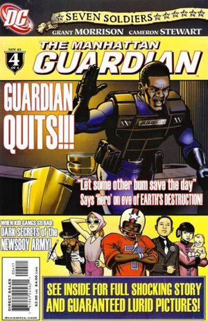 SEVEN SOLDIERS GUARDIAN (2005) #4