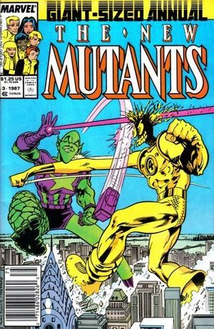 NEW MUTANTS (1983 1ST SERIES) ANNUAL #3