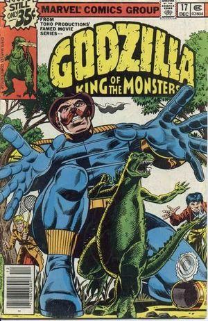 GODZILLA (1977 MARVEL) #17
