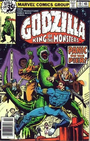GODZILLA (1977 MARVEL) #19