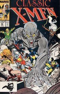 X-MEN CLASSIC (1986 CLASSIC X-MEN) #22