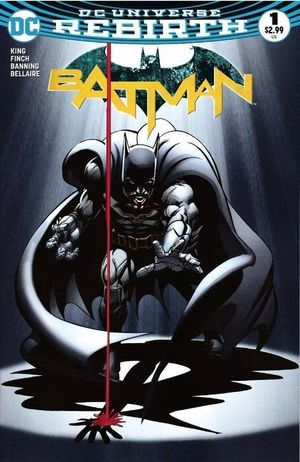 BATMAN (2016 3RD SERIES) #1DCBS
