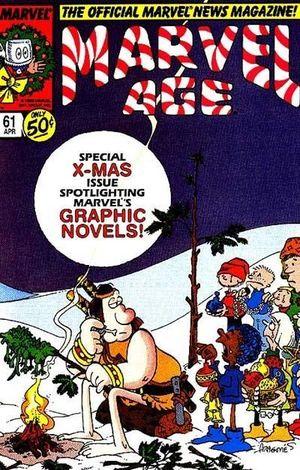 MARVEL AGE (1983) #61