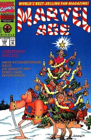 MARVEL AGE (1983) #109