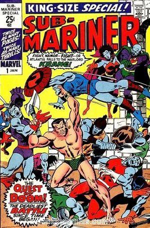 SUB-MARINER (1968 1ST SERIES) ANNUAL #1