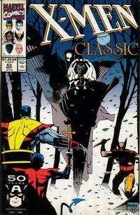 X-MEN CLASSIC (1986 CLASSIC X-MEN) #63