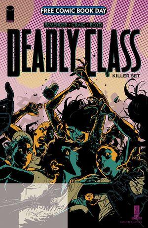 DEADLY CLASS KILLER SET FCBD 2019 #1