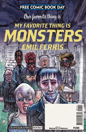 MY FAVORITE THING IS MONSTERS FCBD 2019 #1