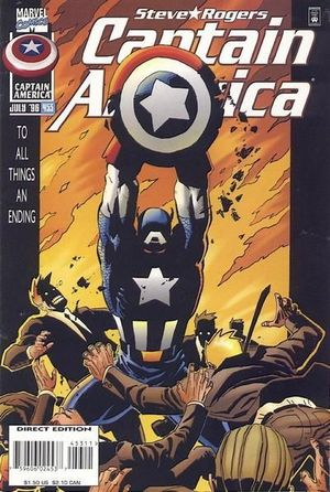 CAPTAIN AMERICA (1968 1ST SERIES) #453