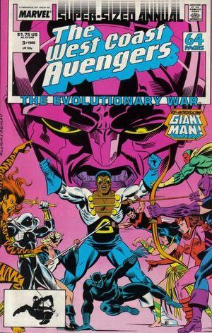 AVENGERS WEST COAST (1986) ANNUAL #3