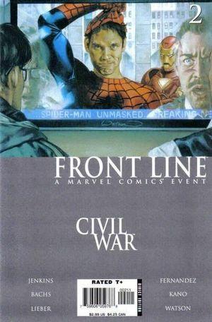 CIVIL WAR FRONT LINE (2006) #2