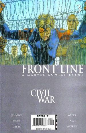 CIVIL WAR FRONT LINE (2006) #3
