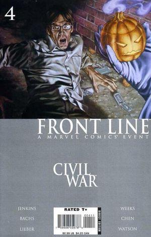 CIVIL WAR FRONT LINE (2006) #4