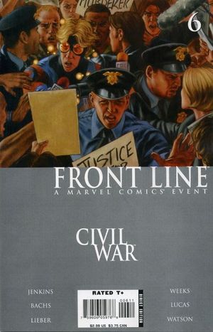 CIVIL WAR FRONT LINE (2006) #6