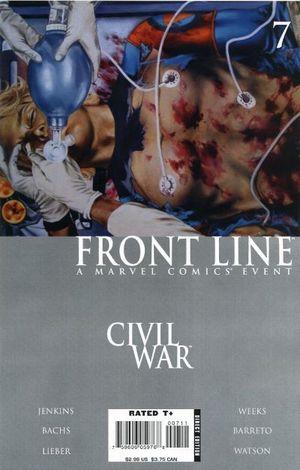 CIVIL WAR FRONT LINE (2006) #7