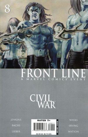 CIVIL WAR FRONT LINE (2006) #8