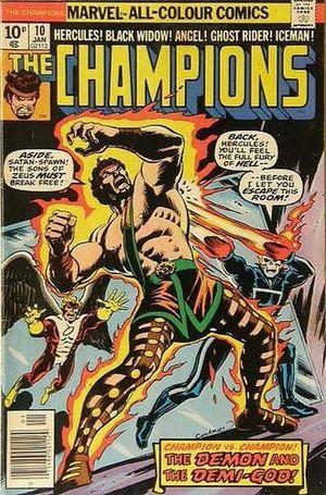 THE CHAMPIONS (1975) UK EDITION #10