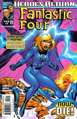 FANTASTIC FOUR (1998 3RD SERIES) #2
