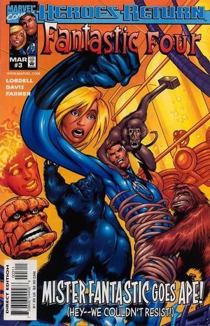 FANTASTIC FOUR (1998 3RD SERIES) #3