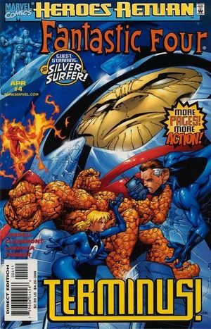 FANTASTIC FOUR (1998 3RD SERIES) #4