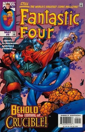 FANTASTIC FOUR (1998 3RD SERIES) #5