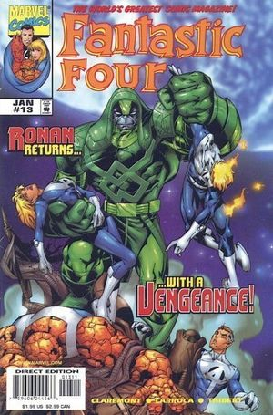 FANTASTIC FOUR (1998 3RD SERIES) #13