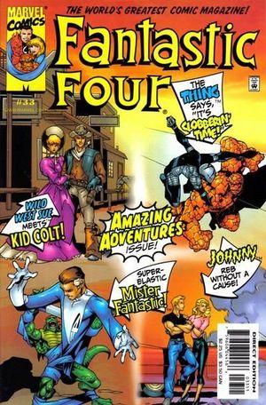 FANTASTIC FOUR (1998 3RD SERIES) #33