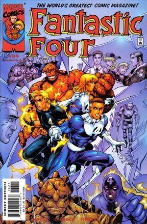 FANTASTIC FOUR (1998 3RD SERIES) #34