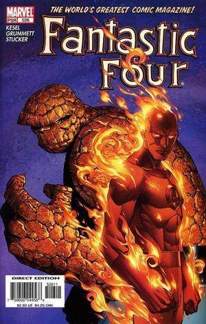 FANTASTIC FOUR (1998 3RD SERIES) #526