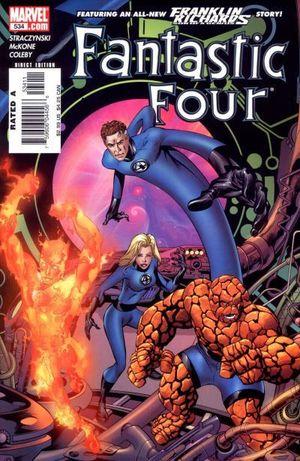 FANTASTIC FOUR (1998 3RD SERIES) #534