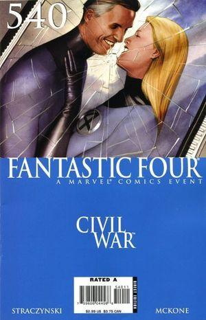 FANTASTIC FOUR (1998 3RD SERIES) #540