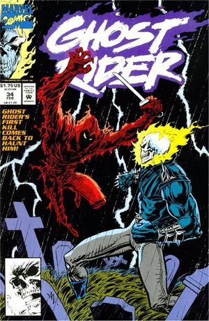 GHOST RIDER (1990 2ND SERIES) #34