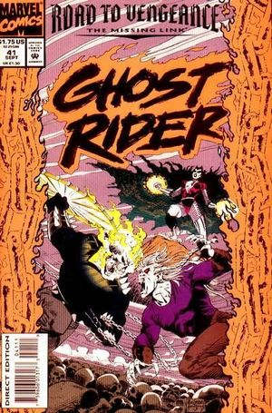 GHOST RIDER (1990 2ND SERIES) #41