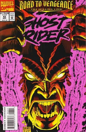 GHOST RIDER (1990 2ND SERIES) #43