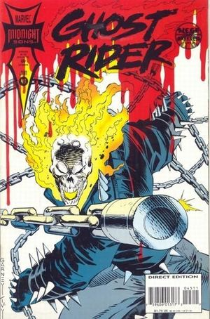 GHOST RIDER (1990 2ND SERIES) #45