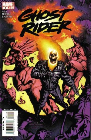 GHOST RIDER (2006 4TH SERIES) #4