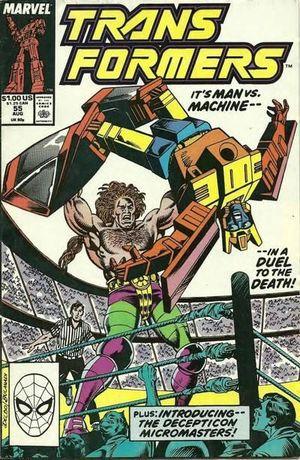TRANSFORMERS (1984 MARVEL) #55