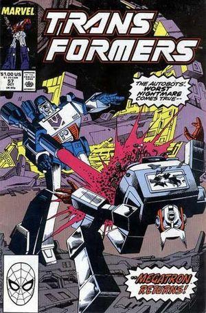 TRANSFORMERS (1984 MARVEL) #57