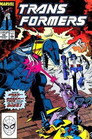 TRANSFORMERS (1984 MARVEL) #59