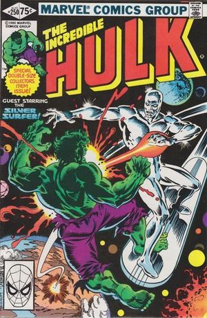 INCREDIBLE HULK (1962-1999 1ST SERIES) #250
