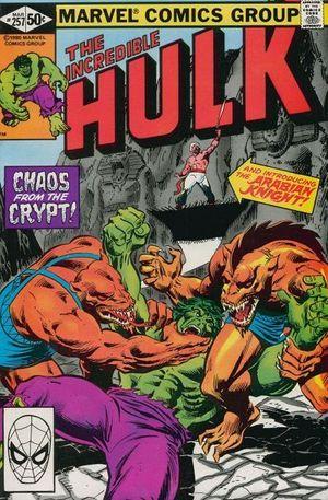 INCREDIBLE HULK (1962-1999 1ST SERIES) #257
