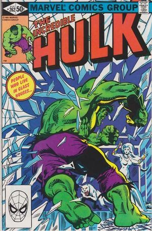 INCREDIBLE HULK (1962-1999 1ST SERIES) #262