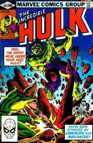 INCREDIBLE HULK (1962-1999 1ST SERIES) #263