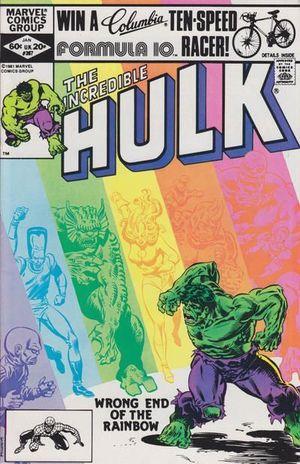 INCREDIBLE HULK (1962-1999 1ST SERIES) #267